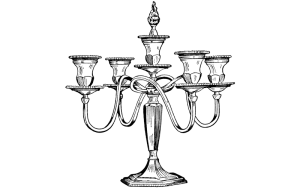 Antique Candle Holder
