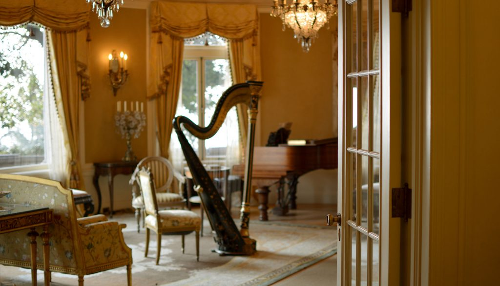 Music Room at Pittock Mansion