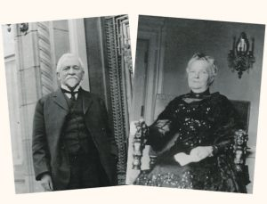 Henry Pittock and Georgiana Burton Pittock