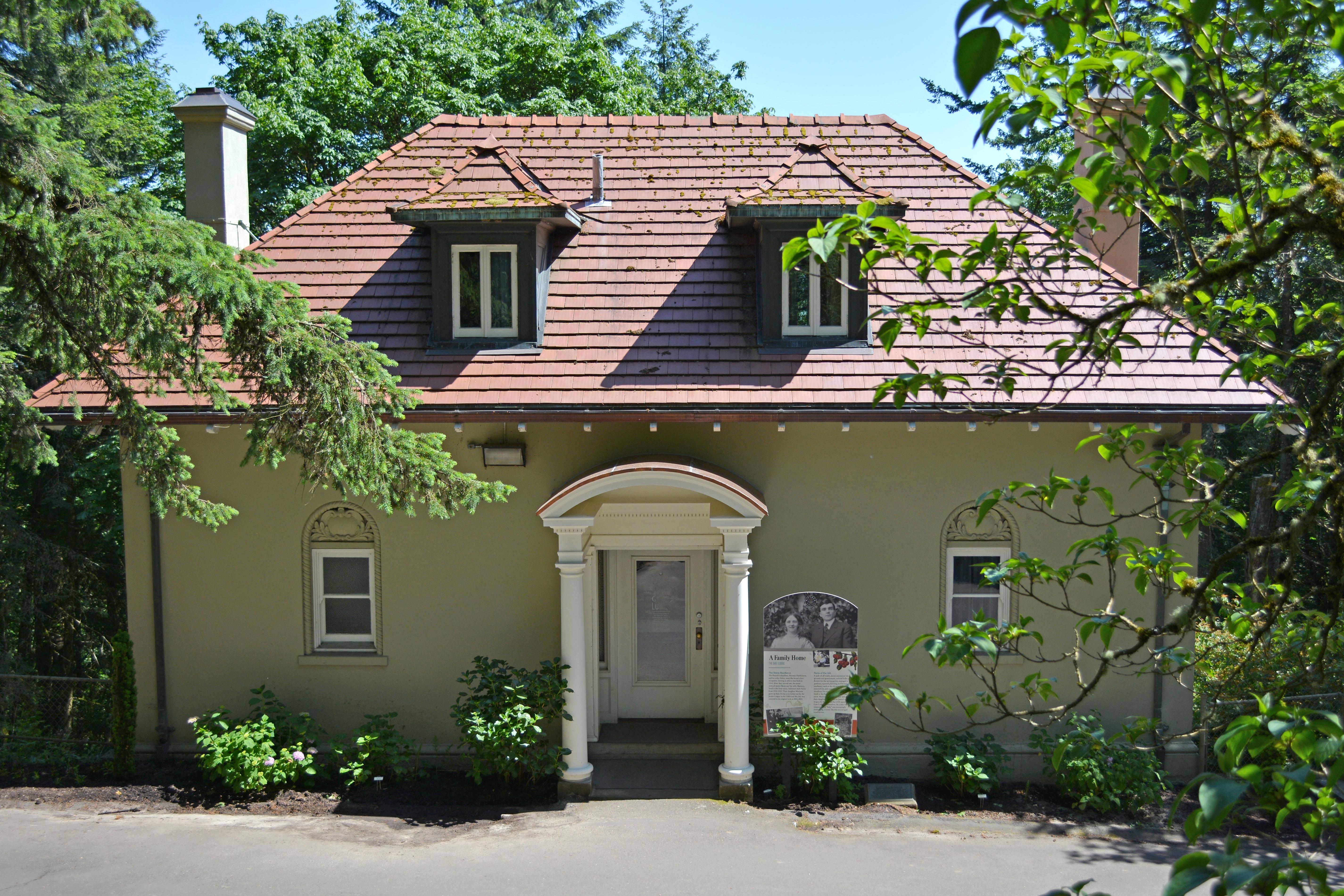 Pittock Mansion's Gate Lodge