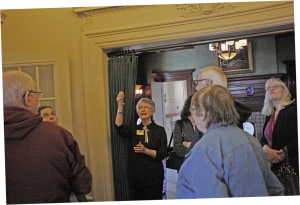 Guided tour at Pittock Mansion
