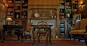 Pittock Mansion's Library