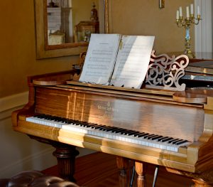 1887 Steinway grand piano