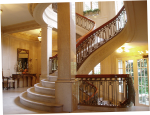 Pittock Mansion's Grand Staircase
