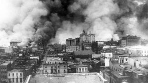 Fire following the 1906 San Francisco earthquake