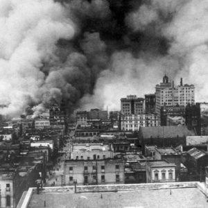 Fire following the 1906 San Francisco earthquake